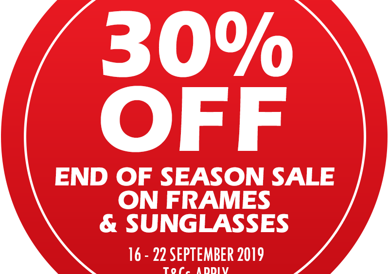 VISION OPTOMETRISTS sunglasses and frames sale